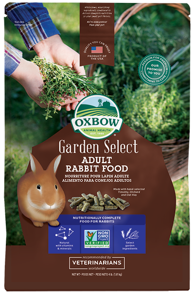 Oxbow Garden Select : Adult Rabbit 4lbs