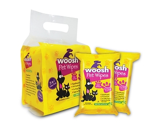 [PROMO] Woosh Pet Wipes Buy 2packs FREE 1 Ear Wipes