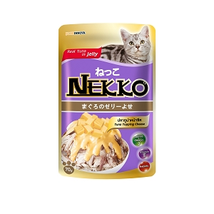 Nekko Pouch Tuna With Cheese