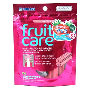 FORCANS Fruit Care Dental Chew Strawberry