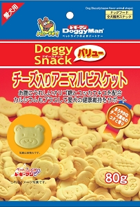 DoggyMan Animal Biscuits with Cheese