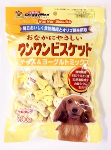 DoggyMan Bowwow Biscuits Cheese & Yogurt Mix