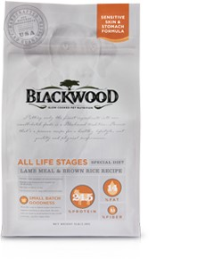 Blackwood All Life Stages (Special Diet) – Lamb Meal & Brown Rice Recipe