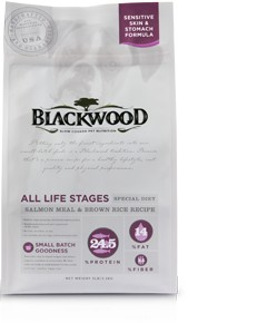 Blackwood All Life Stages (Special Diet) – Salmon Meal & Field Pea Recipe