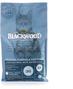 Blackwood ORIGINAL FORMULA CAT FOOD – Chicken Meal with Brown Rice