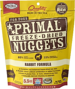 Primal Freeze Dried Canine Rabbit Formula