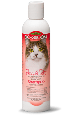Bio-Groom Cat Flea & Tick Shampoo Protein Lanolin Enriched