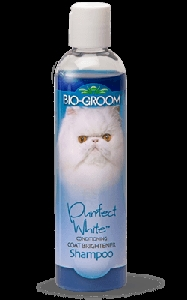 Bio-Groom Cat Purrfect White Conditioning Coat Brightener Shampoo