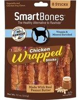 SMARTBONES Chicken Wrapped / Peanut Butter Wrapped