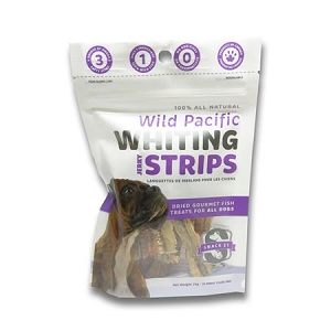 Snack 21 Wild Pacific Whiting Strips for DOGS