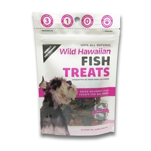 Snack 21 Wild Hawaiian Fish Treats(Tuna) for Dogs