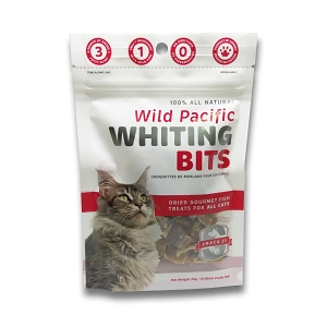 Snack 21 Wild Pacific Whiting Bits for CATS