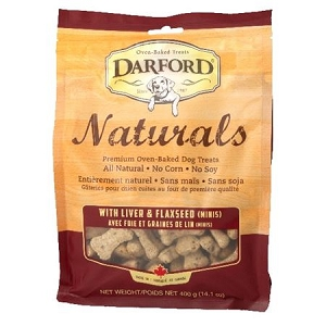 Darford Naturals Liver & Flaxseed (Minis) 400g