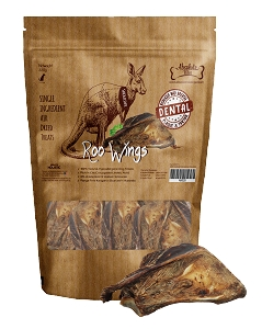 Absolute Bites Air Dried Roo Wings 330g