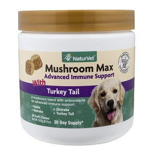 NaturVet Mushroom Max with Turkey Tail