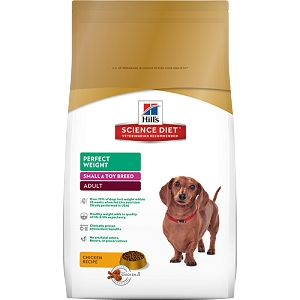 Science Diet Hills Perfect Weight Small & Toy Breed