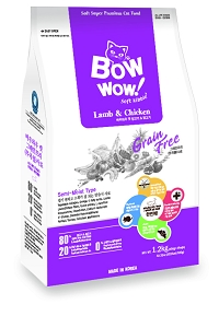 Bow Wow Cat Zenith Grain Free Soft Kibble - Lamb & Chicken