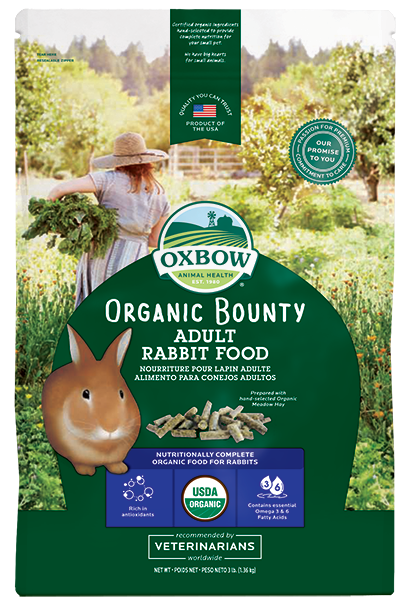 Oxbow Organic Bounty - Adult Rabbit 3lbs