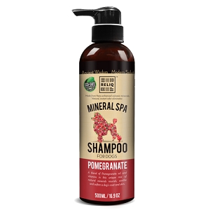 Reliq Mineral Spa Dog Shampoo (Pomegranate)