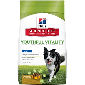 Hills Science Diet Youthful Vitality Canine Adult 7+