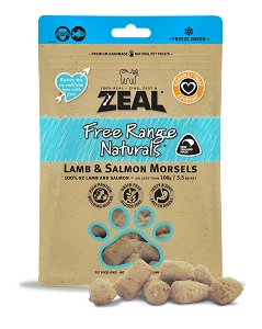 Zeal Freezed Dried  Lamb & Salmon Morsels