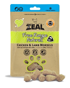 Zeal Freezed Dried Chicken & Lamb Morsels