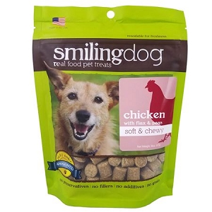 Herbsmith Dog Soft & Chewy - Chicken with Flax & Peas 8oz