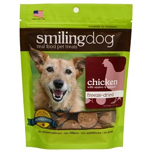 Herbsmith Dog Freeze Dried - Chicken, Apples & Spinach 2.5oz