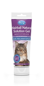 PetAg Hairball Natural Solution Gel (For Cats)