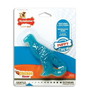 Nylabone Puppy Chicken Dinosaur Small