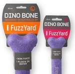 FuzzYard Dino Bone (Toy and Float in 1)