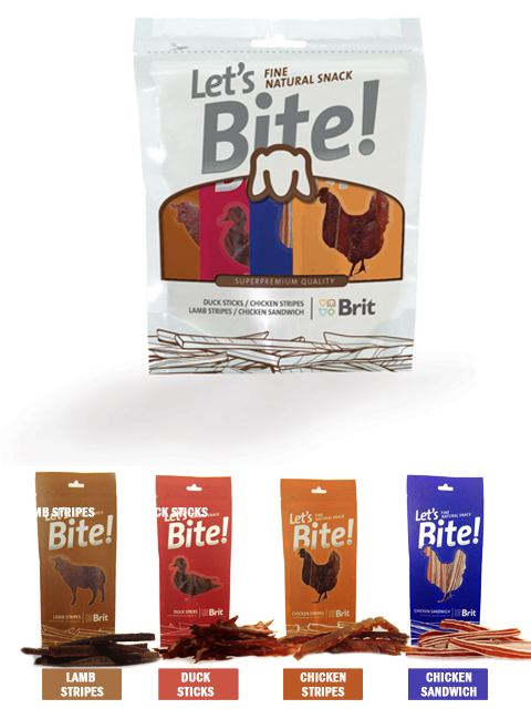 Brit Let's Bite! Multipack Treats