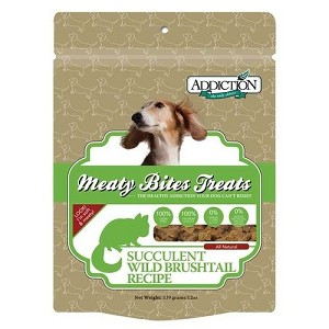 Addiction Meaty Bites Grain Free Wild Brushtail Dog Treats