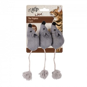 AFP Cat Triplet Mice Toy