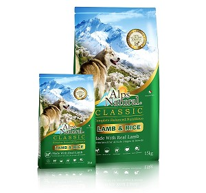 Alps Natural Classic Lamb & Rice