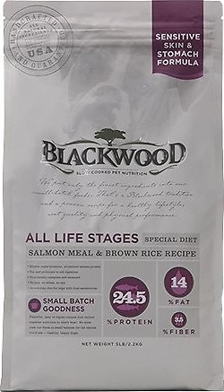 Blackwood All Life Stages Special Diet Salmon Meal & Brown Rice Dry Dog Food