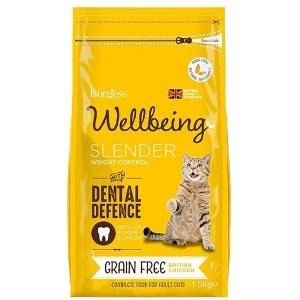 Burgess Wellbeing Grain Free Slender Chicken Adult Dry Cat Food