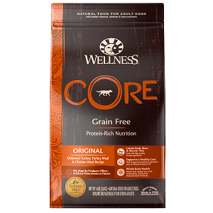 [UP TO 30% OFF w/ FREE TREATS for Large bag] Wellness Core Dry Original