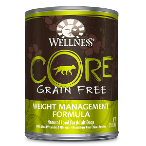 Wellness Core Canned Dog Grain Free Weight Management Formula