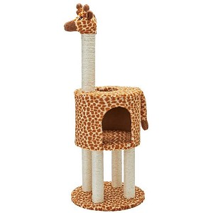 Marukan Animal Type Tower for Cat 40 x 40 x 105cm
