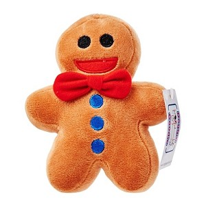 Doggie Goodie Gingerbread Baby Toy
