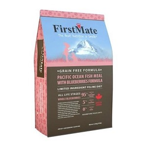 FirstMate Grain & Gluten-Free Pacific Ocean Fish with Blueberries Formula Dry Cat Food