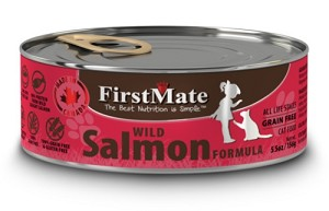 FirstMate Grain & Gluten Free Canned Wild Salmon Cat Food