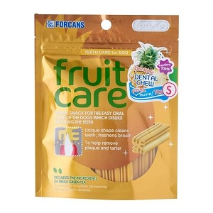 FORCANS Fruit Care Dental Chew Pineapple