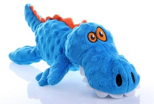 GoDog Blue JustForMe Gator Plush Toy