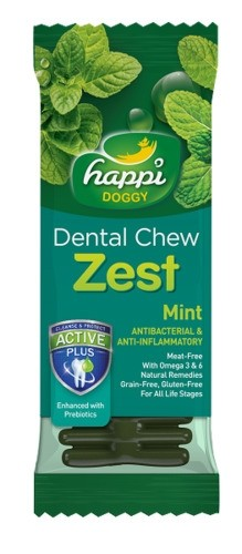 Happi Doggy - ZEST - Mint 4inch (50pcs/box)