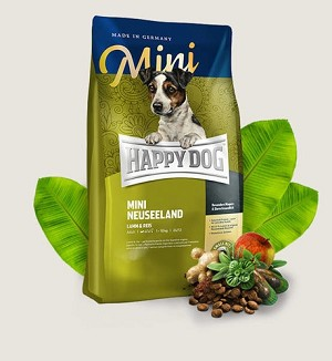 HAPPY DOG Supreme Mini Neuseeland Gluten Free Lamb & Rice Dry Dog Food