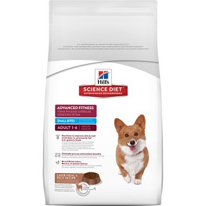 Hill's Science Diet Adult Advanced Fitness Lamb Meal & Rice Recipe Small Bites Dry Dog Food