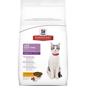 Hill's Science Diet Senior 11+ Age Defying Dry Cat Food