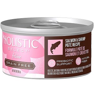 Holistic Select GRAIN FREE Feline Salmon & Shrimp Pate